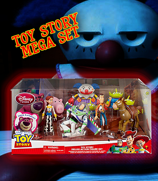 Toy Sets Toy Story 3 Mega Set Action